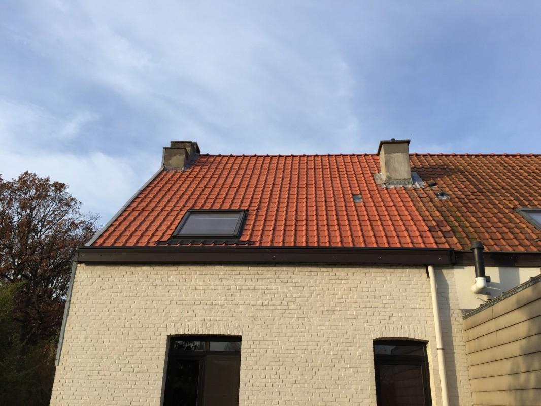 Een woonzolder laten isoleren imemo brecht - Mezzanine onder het dak ...